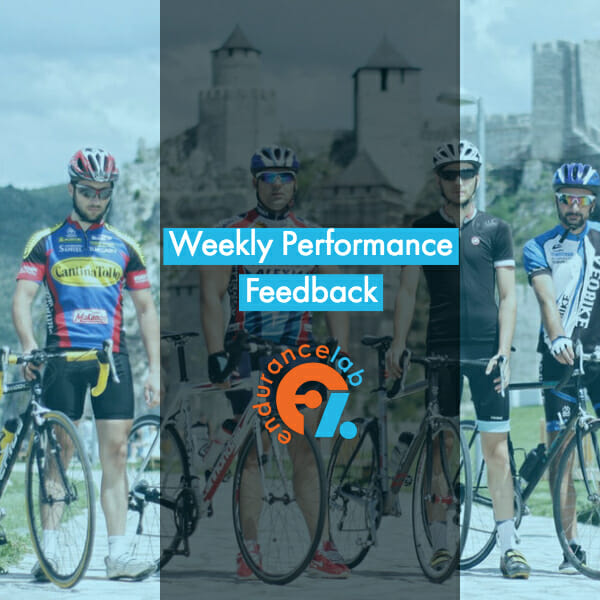 Weekly Performance Feedback -Endurance Lab